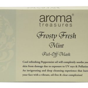 Aroma Treasures Frost Fresh Mint Peel Off Mask (Pack of 3)