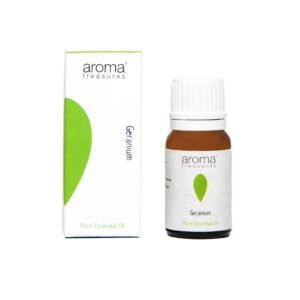 Aroma Treasures Geranium Essential Oil 100% Pure & Natural, Essential Oil