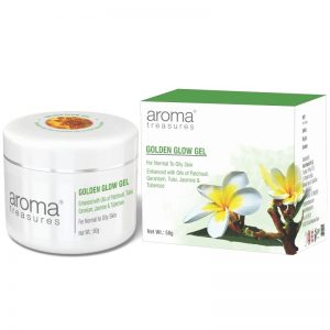 Aroma Treasures Golden Glow Gel, Face Gel