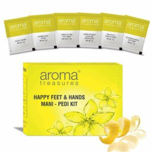 Aroma Treasures Happy Hands and Feet Mani Pedi Single Time Use Kit
