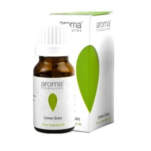 Aroma Treasures Lemon Grass Essential Oil 100% Pure & Natural - 10ml