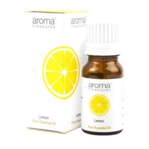 Aroma Treasures Lemon Essentail Oil 100% Pure & Natural - 10ml