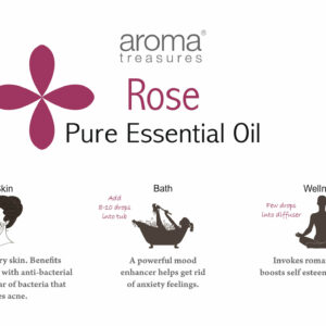 Aroma Treasures Rose Absolute Essential Oil 100% Pure & Natural, Essential Oil