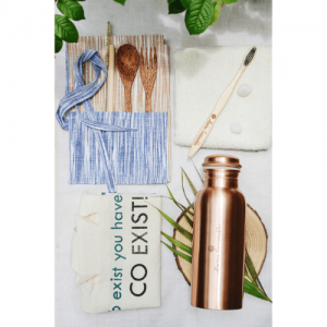 stainless steel straw, bamboo straw, wooden straw, natural, eco friendly, natural straw, handmade in india, india made, copper straw, reusable straw, eco friendly straw, spoon, fork, eco friendly spoon, spoon online, dinner set, bowls with spoon and fork, fork spoon, Wanderlust Cutlery Kit