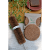 Kitchen Scrub, Eco-Friendly, Biodegradable, Coir, Coconut Fibre, laundry brush, bottle cleaner, vegetable cleaner, Coconut Fiber Coir Scrub (Pack of 5) and Bottler cleaner