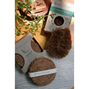 Kitchen Scrub, Eco-Friendly, Biodegradable, Coir, Coconut Fibre, laundry brush, bottle cleaner, vegetable cleaner, Coconut Fiber Coir Scrub & Vegetable Cleaner Combo