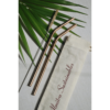 Reusable Copper Straw (Bent) Pack of 2 with Cleaner