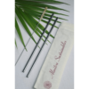 stainless steel straw, bamboo straw, wooden straw, natural, eco friendly, natural straw, handmade in india, india made, copper straw, reusable straw, eco friendly straw ,Stainless Steel straw (Straight) Pack of 2 with 1 Cleaner