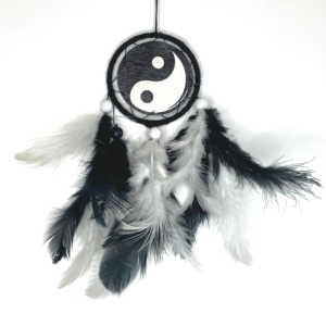 Yin Yang dream catcher, colorful dream catcher, car hanging, dream catcher