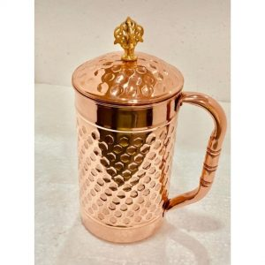 ayurveda, copper jar, copper water bottle, copper bottle, copper jug,