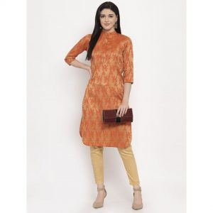 cotton suit set, suit, silk suit set, orange kurta, orange, orange cotton suit