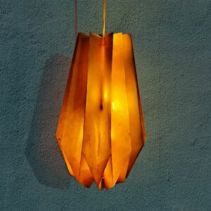 origami lantern, origami, wall hangings, eco friendly