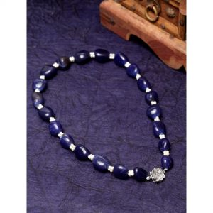 Blue Pearls String Necklace