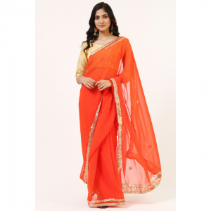 saree, georgette saree