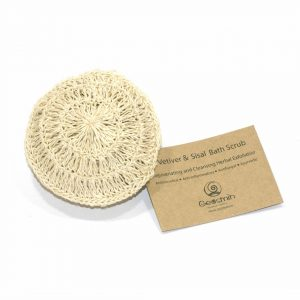 Vetiver sisal scrub, Bath scrub, Eco-Friendly, Biodegradable