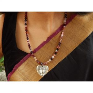 Temple necklace set, temple jewellery