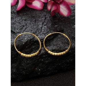 Dugristyle Gold-Plated Hoops, earrings, earring, jewellery