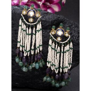 Dugristyle Katyani Emerald Earring, earrings, earring, jewellery