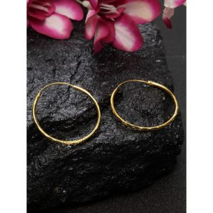 Dugristyle Gold-Plated Hoop Earring , earrings, earring, jewellery