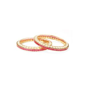 Dugristyle Ruby Bangles, Bangle, Bangles, jewellery