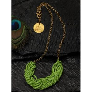 Dugristyle Greenie Chain Necklace,Necklace