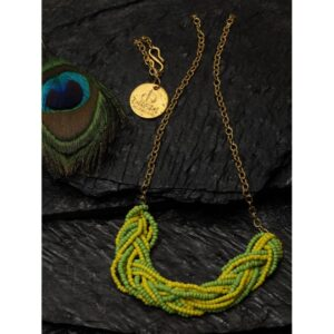 Dugristyle Envy Green Chain Necklace,Necklace