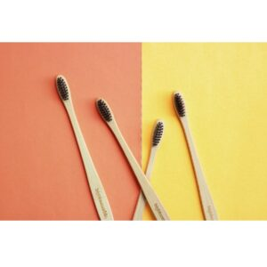 Bigbluemarble Bamboo Toothbrush - Natura - Pack of 4