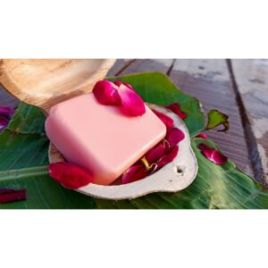 Handmade Rose Bathing Soap Bar