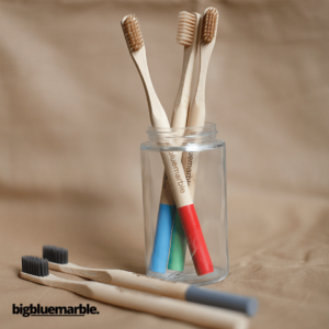 Bigbluemarble Bamboo Toothbrush - Pack of 4