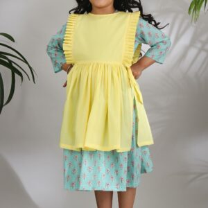 The Cotton Staple Chinar Layered Dress
