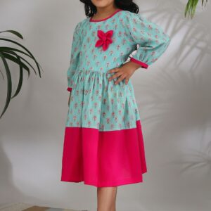 The Cotton Staple Chinar Phool Dress