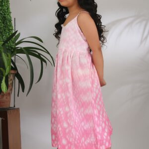 The Cotton Staple Pink Shibori Dress