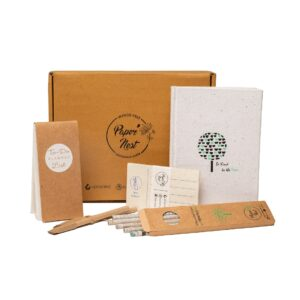 PaperNest Be kind to the trees Gift Set (White)