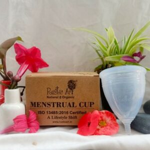 Rustic Art Menstrual Cup (Only Cup)