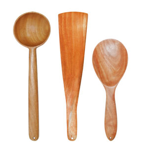 Neem Wood Essential Cooking Ladles-Daily Use