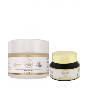 face cream and face wash powder