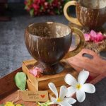 Coconut Shell Tea or Coffee Cups - Pack of 4
