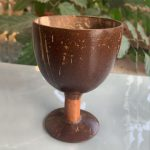Coconut Shell Juice or Wine Glass - Pack of 4
