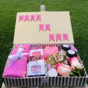 Bride to Be Gift Hamper - Made with toxic chemical soaps free