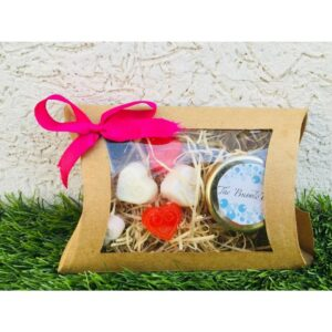 Cute Pamper Hamper - Made with All Natural Toxic chemical free Handmade Soaps for Birthday, Anniversaries, Return favours etc.