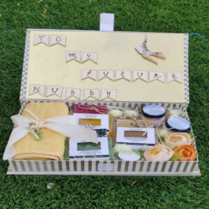HUSBAND TO BE Pamper Hamper - Made with All Natural toxic chemical free Handmade soaps